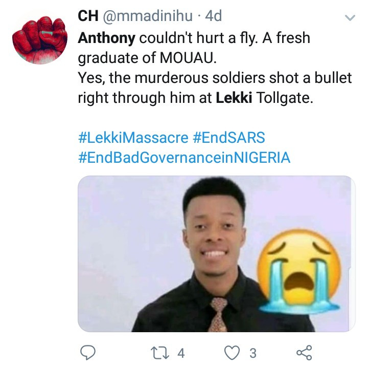 Woman Whose Son Died In The Lekki Shootings Speaks Up To Counter Claims That No One Died (Video) #Arewapublisize