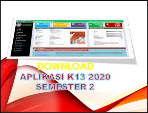 Aplikasi Raport K13 SD Revisi Terbaru 2020