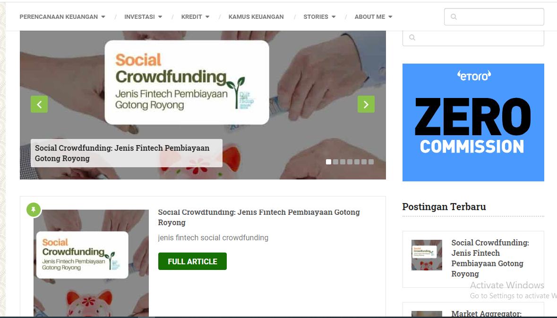 "Blog Finansial ""DaniRachmat.com"""