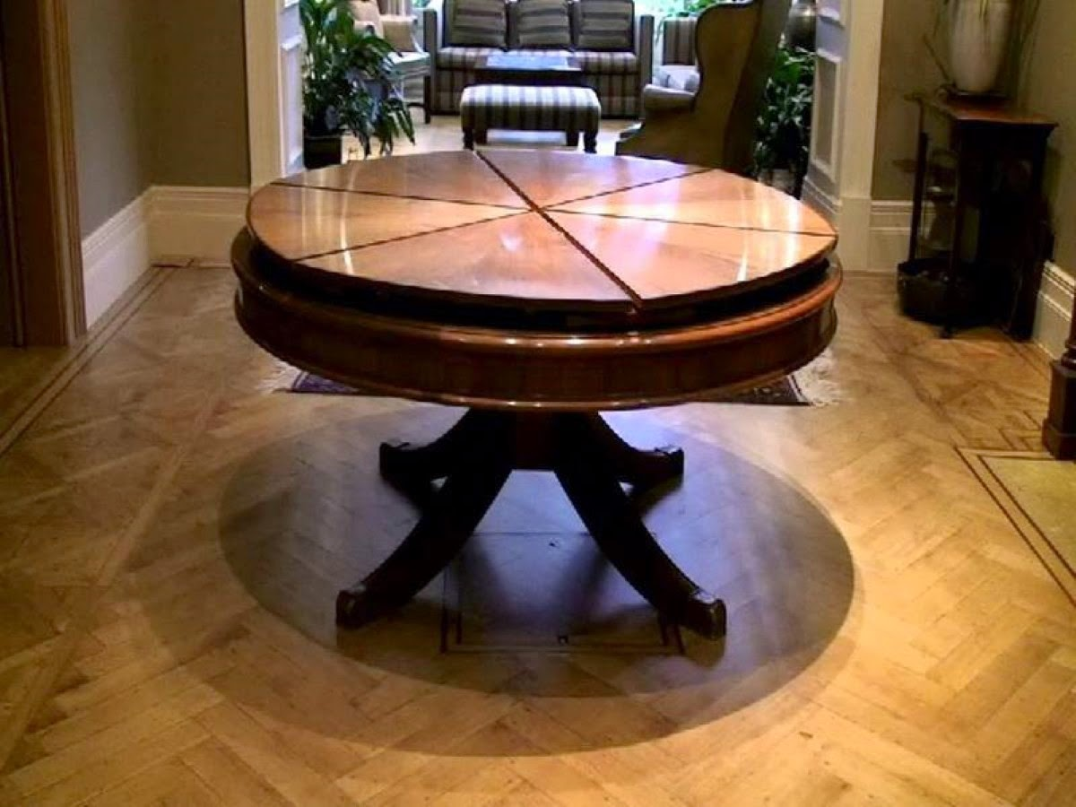 Expanding Round Dining Table Home Priority Outstanding Round Expandable Dining Table