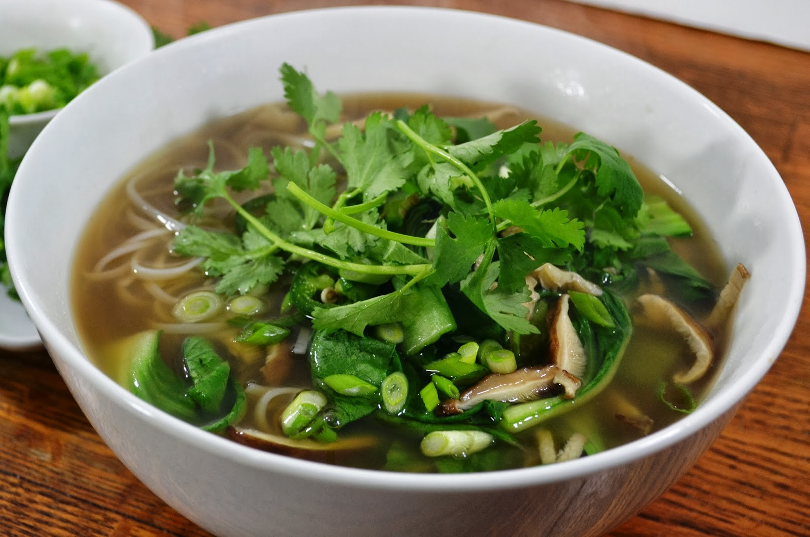 kale and kumquats: Vegetarian Pho