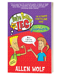 Book Review and GIVEAWAY - You're Pulling My Leg! Junior: The Ultimate Storytelling Game, by Allan Wolf {ends 10/29}