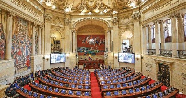 Derogan artículo sobre sesión virtual del Congreso en Colombia