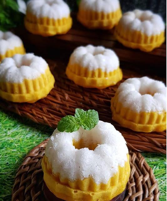 Kue Putu Ayu Dari Labu Kuning