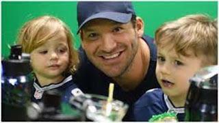 Tony Romo Kids