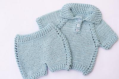 3 - Crochet IMAGEN pantalon a juego con jersey a crochet muy facil y rapido MAJOVEL CROCHET