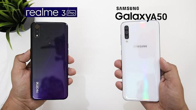 Kelebihan dan Kekurangan Samsung Galaxy A50, Xiaomi Note 7 Pro dan Realme 3 Pro