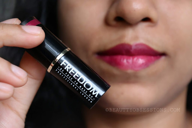 Freedom Pro Lipstick Now 119 Adorn Review & Swatches