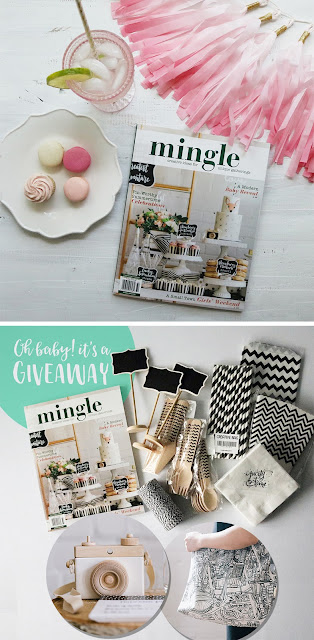 modern wilderness baby shower and giveaway | creativebag.com