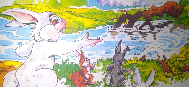 खरगोश और मेंढक (In Hindi Short Story For Class 4th)