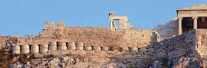 Έργα - ασπίδα στα τείχη της Ακρόπολης