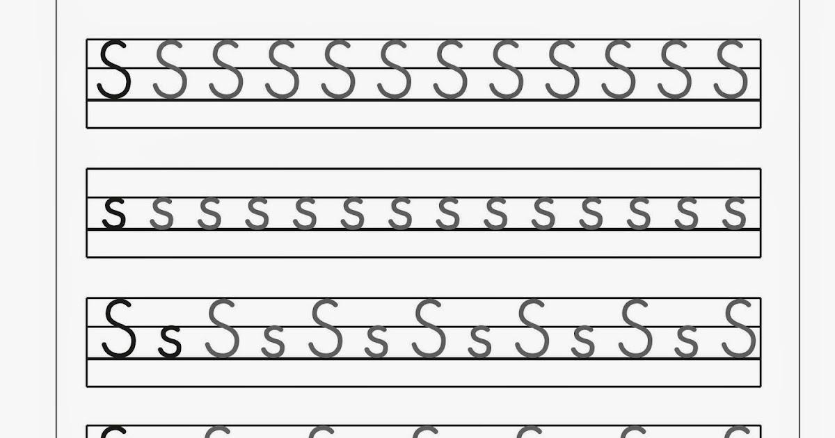 Lernstübchen: Schreibblätter zum S -s