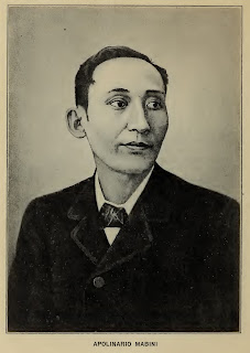 "Apolinario Mabini:  image extracted from the 1920 publication ""Prose Selections."""