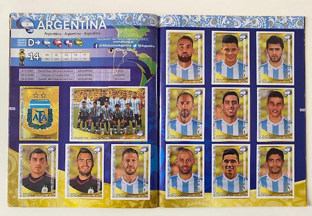 Figurine Argentina Copa America 2016