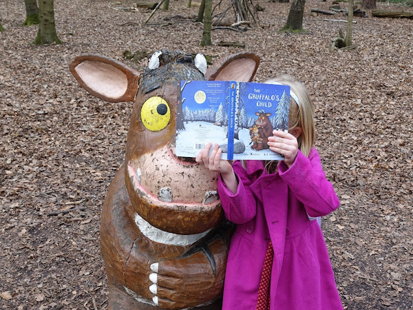 The Gruffalo's Child Trail at Thorndon Country Park