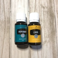 PAKET TERLARIS LEMON 15ml + PEPPERMINT 15ml ORI YL ESSENTIAL OIL