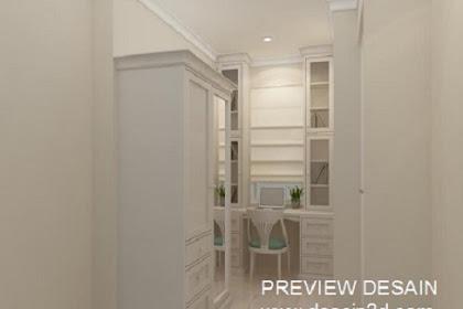 Jasa design kamar tidur anak view ruang belajar murah berpengalaman