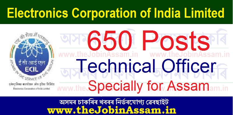 ECIL Recruitment 2021: Apply Online for 650 Technical Officer Vacancy