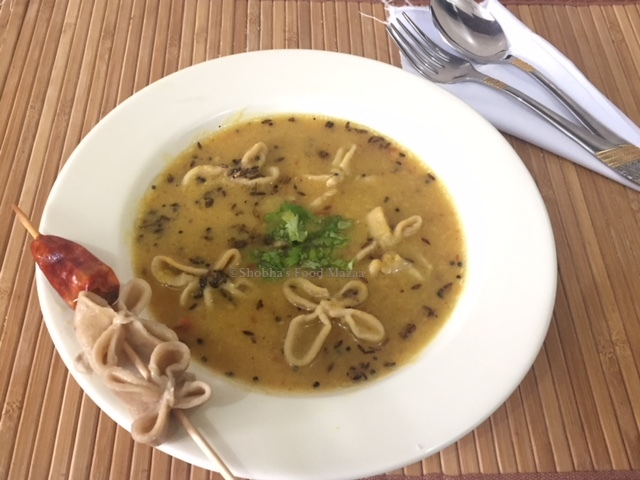 Shobhas food mazaa dal ka dulha such an interesting recipe from up and bihar i was really fascinated when i saw this in the show northern flavours doosra tadka by chef ajay chopra forumfinder Images