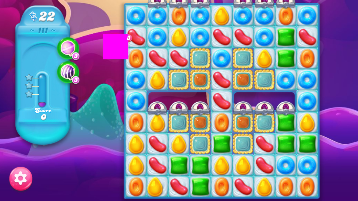 Candy Crush Jelly Saga 111