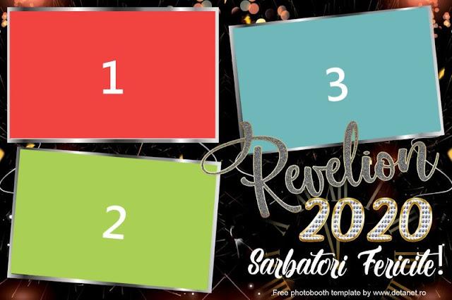 Template photobooth revelion