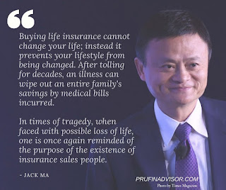 Jack Ma Life Insurance Quotes