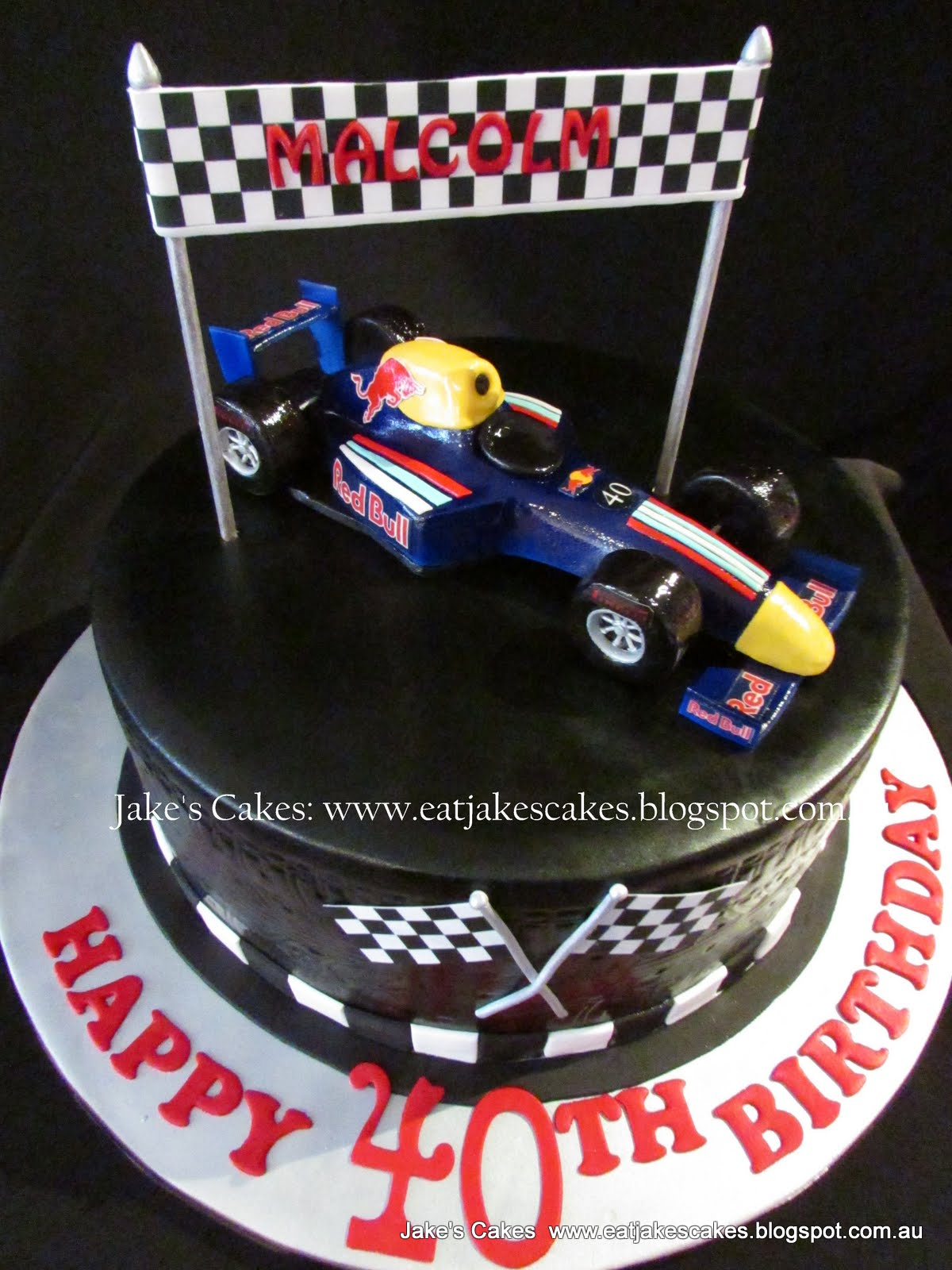 Car template for autos post for F1 car cake template