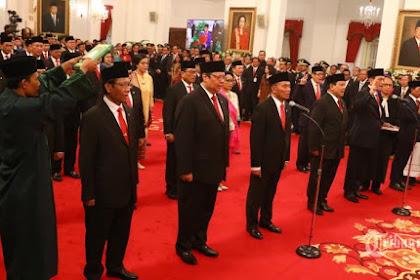 Jokowi Mulai Bicara Reshuffle, Inilah 5 Menteri Berkinerja Buruk dan Layak Diganti Versi IPO