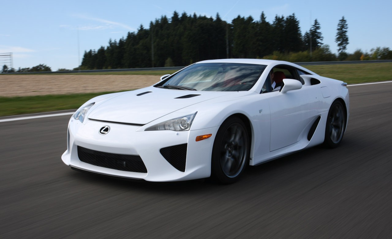 Aleena Latest Cars: Lexus LFA Supercar
