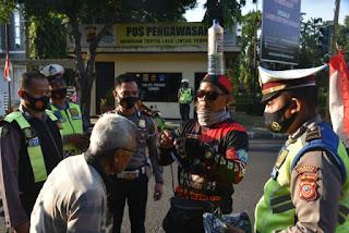 Kapolresta Cirebon Sambut Komunitas Sepeda Onthel Gowes Keliling Jabar di Mapolresta Cirebon