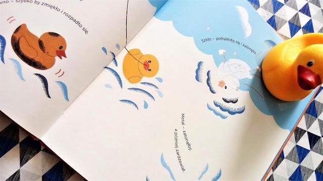 zabawki kąpielowe w oceanie sztorm na pacyfiku Plastik fantastik wydawnictwo babaryba