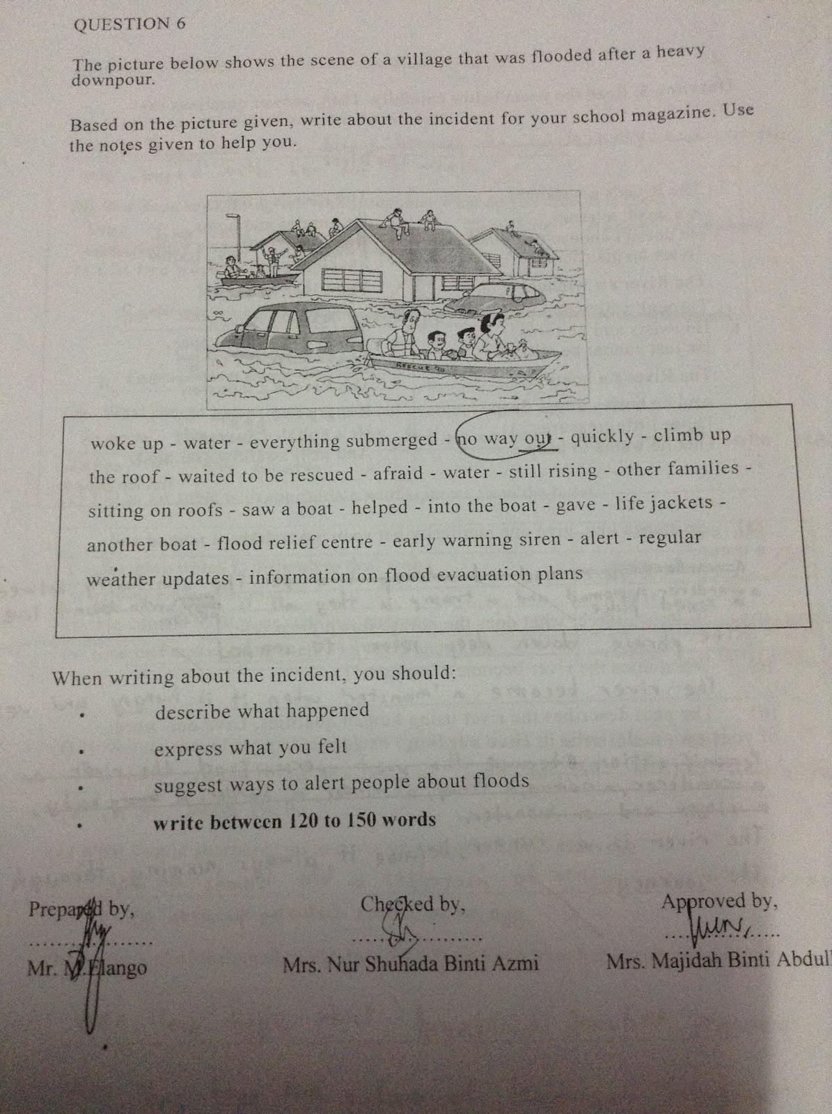 Essay On Flood Sharing Is Caring Pt3 Essay Flash Flood Ged Essay
