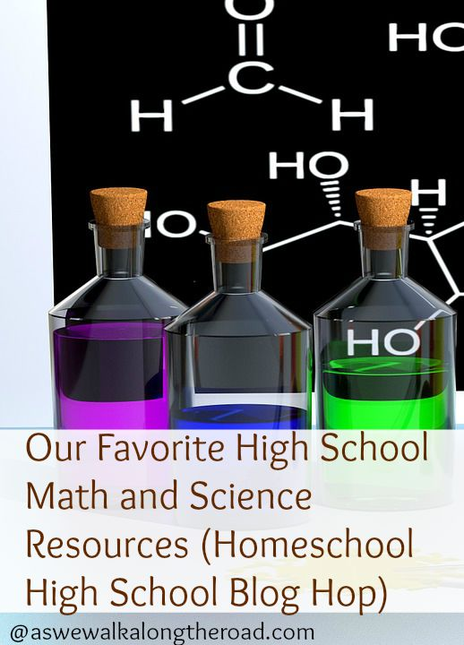 Math and science curricula for homeschooling high school