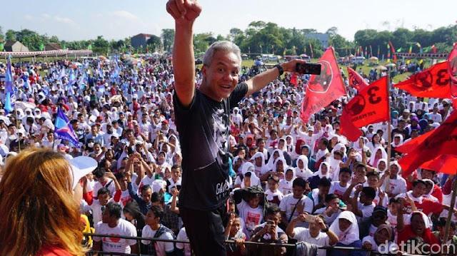 Tepis PDIP, Gerindra Jateng: Pendukung Ganjar Pilih Prabowo-Sandi
