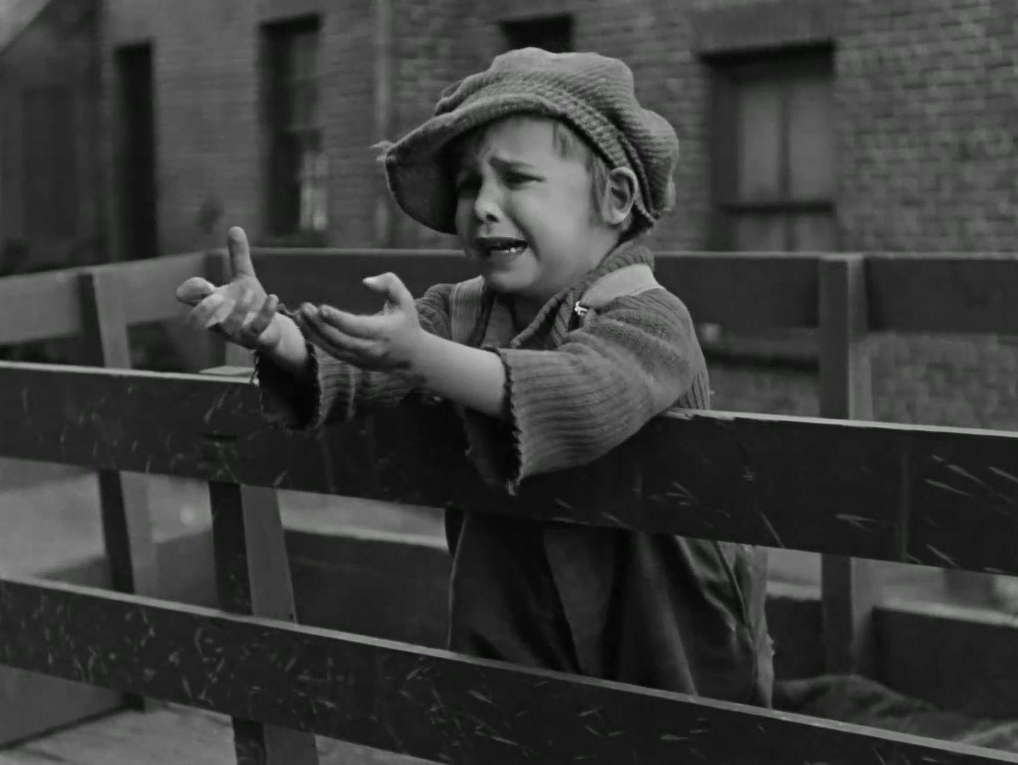 Jackie Coogan dans The Kid