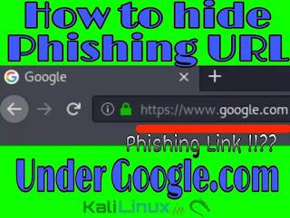 how to hide phishing URL