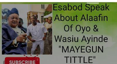 Kwam1 olori badirat adejoke adeyemi esabod alaafin of oyo affair that sent her packing from the palace