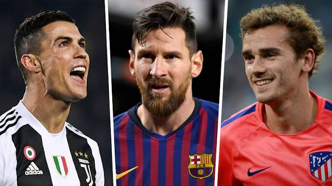 Messi crowned as highest-paid footballer ahead of Ronaldo & Griezmann