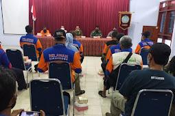 Danramil Karangdowo Hadiri Pertemuan BPBD Forkompincam Dan Komunitas Relawan Karangdowo