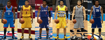 NBA 2K13 Missing Alternate & Xmas Jerseys