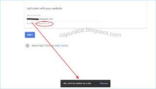 Cara menambahkan situs yang masih Blogspot ke Adsense
