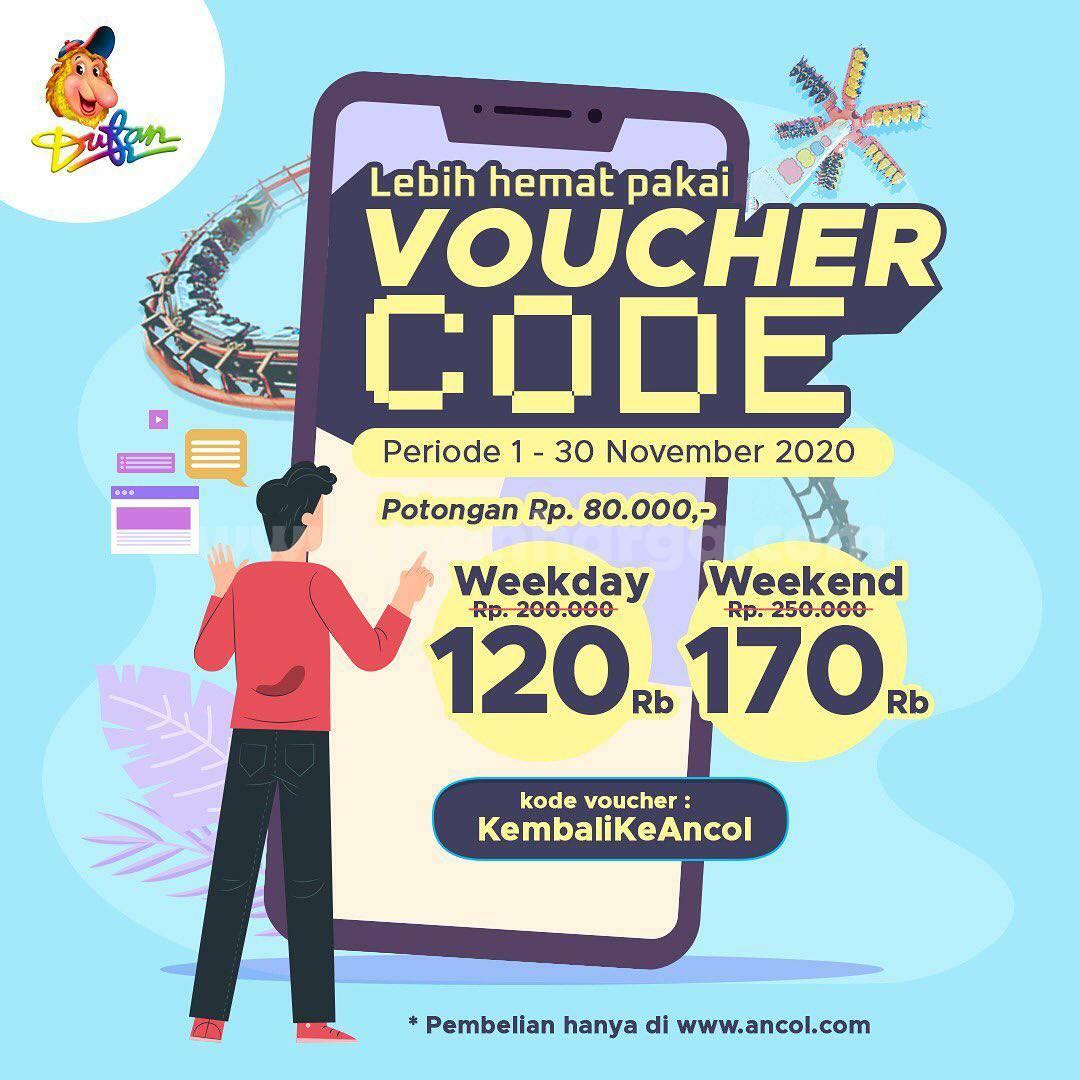 DUFAN Promo Diskon hingga Rp 80.000 dengan Voucher Code*