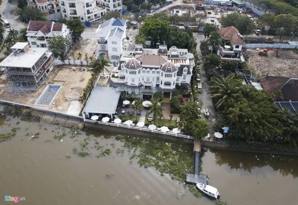 Biệt thự ở Thảo Điền bịt kín lối ra bờ sông Sài Gòn ảnh 15
