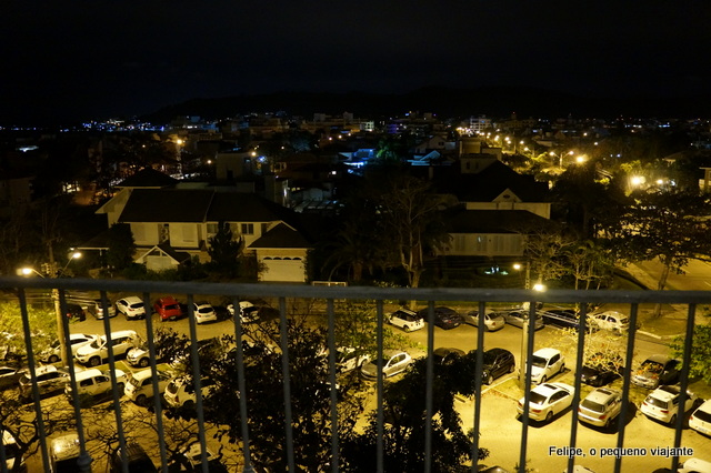 vista da nossa suíte no Il Campanario Villagio Resort em Jurerê Internacional