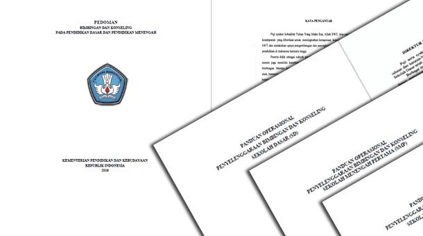 mudahan berguna sebagai referensi panduan operasional BK ditujukan bagi Guru Panduan Penyelenggaraan BK (Bimbingan Konseling) SD SMP SMA SMK