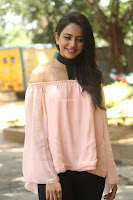 Rakul Preet Singh in lovely Pink Crop Top and Black Trousers at Jaya Janaki Nayaka success meet 067.JPG