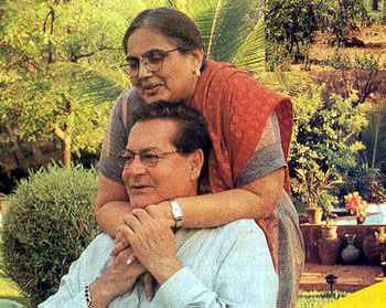 Salman father and mother