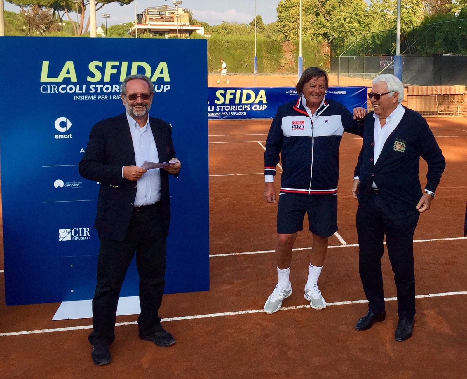 """La squadra di Nicola Pietrangeli vince """"la Sfida"""" per il CIR"""