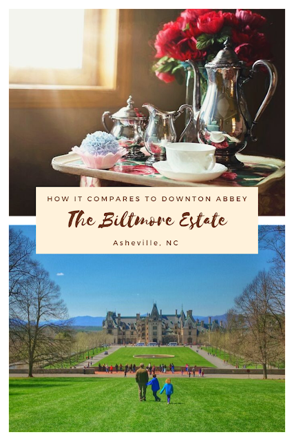 "The  Biltmore Estate In Asheville, NC can be compared to ""Downton Abbey"""