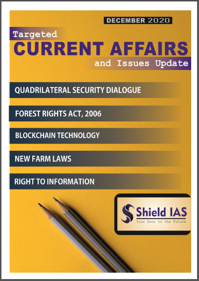 Shield IAS Current Affairs And Issues Update (December 2020) : For All Competitive Exam PDF Book